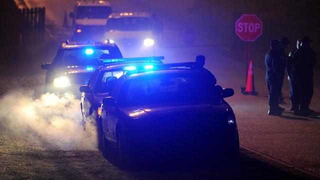 Amerikaanse vrouw wil politieauto stelen met agenten erin