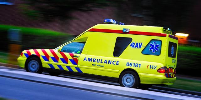 Twee gewonden bij kop-staartbotsing Appingedam