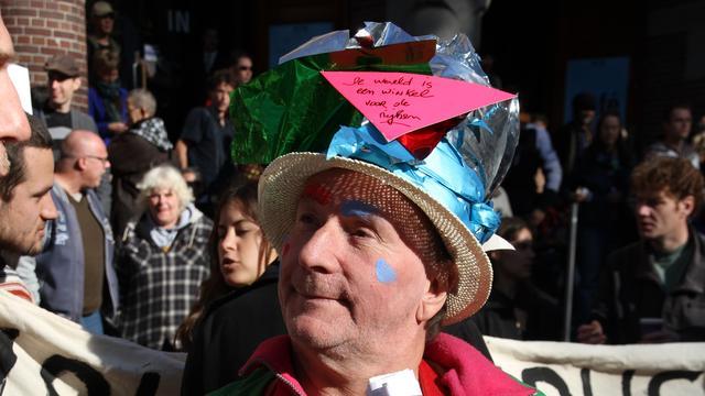 Nederlandse demonstranten Occupy houden vol