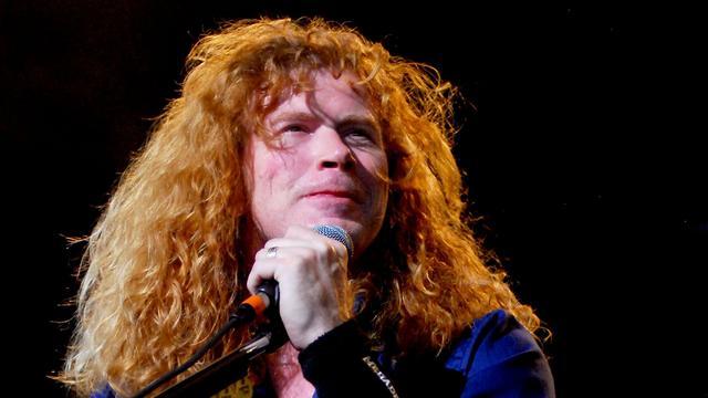 Megadeth-zanger Dave Mustaine wordt behandeld voor kanker