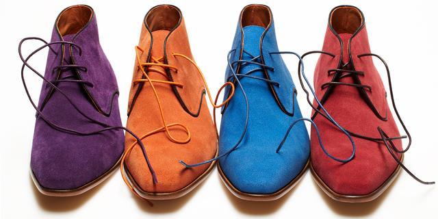 Van Lier komt met kleurige Chukka boots
