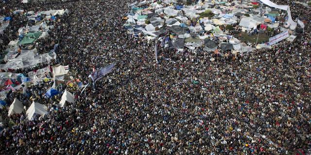 Caïro weer toneel van protest