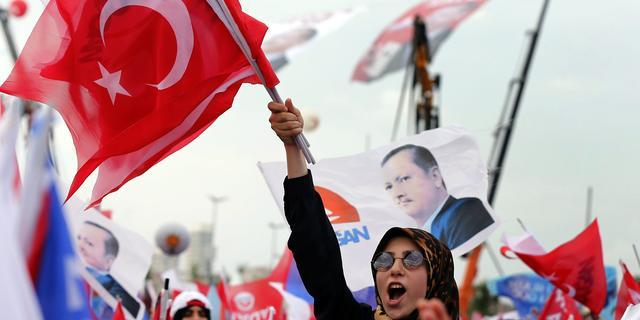 Weinig Turken in Europa naar stembussen