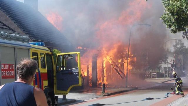 Politie onderzoekt oorzaak brand Bad Nieuweschans