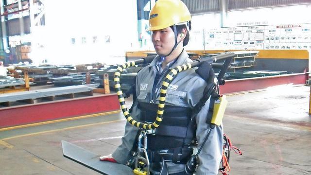 Zuid-koreaanse schepenbouwer wil exoskeletten inzetten