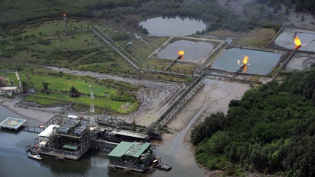 'Shell en Nigeria falen in reiniging delta'