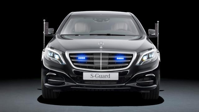 Mercedes S 600 Guard is gepantserde S-klasse