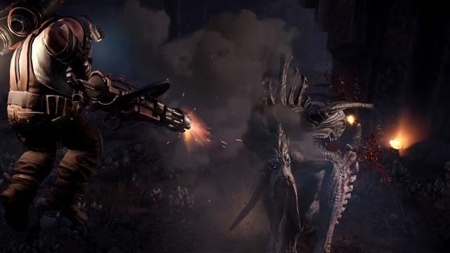 Evolve voor pc verder als free-to-play-game