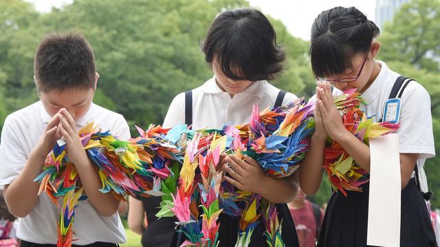 Zorg defensiebeleid bij herdenking Hiroshima