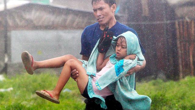 Doden op Filipijnen door tyfoon