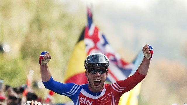 Cavendish wereldkampioen op de weg