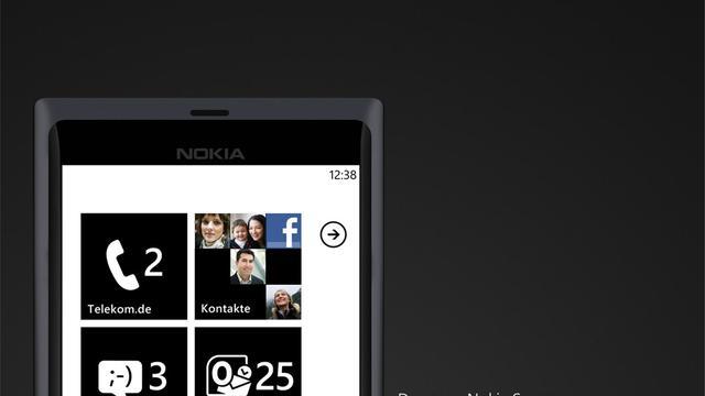 Foto eerste Windows Phone-toestel Nokia gelekt