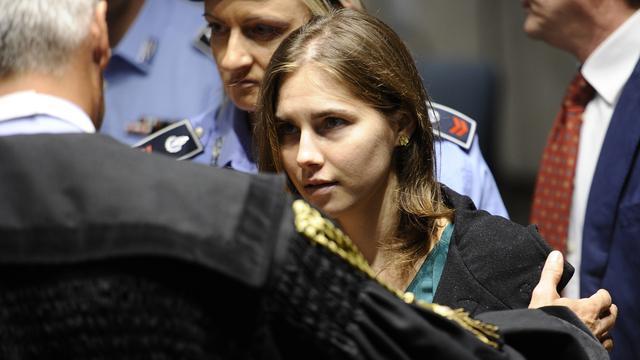 Amanda Knox vrijgesproken van seksmoord