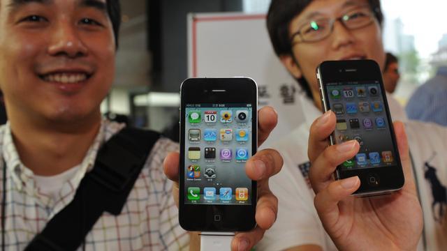 'iPhone niet populair in India'