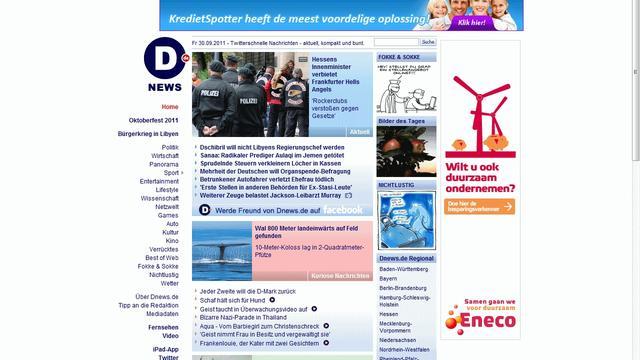 Sanoma trekt stekker uit 'Duitse NU.nl'