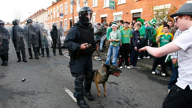 Bom ontmanteld in Belfast