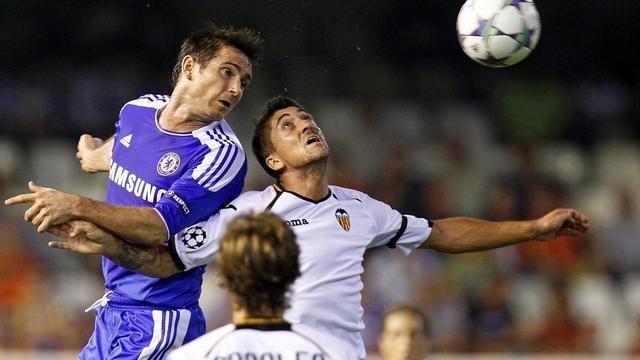 Valencia laat naast Chelsea, Barça en Milan winnen
