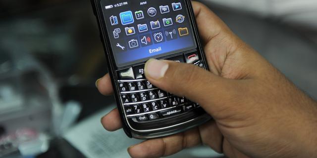 Blackberry kampt weer met storing