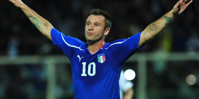 Vermoeide Cassano wil na WK 2014 stoppen