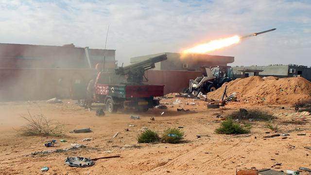 'President' Libië bezoekt Sirte