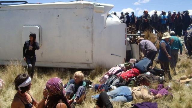 Twee Nederlanders dood door busongeval Java