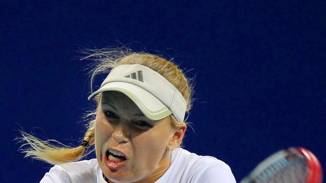Kwartfinale eindstation Wozniacki in Peking