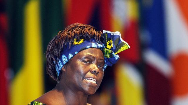 Nobelprijswinnares Wangari Maathai overleden