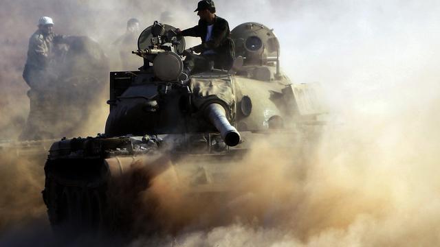 NAVO voert weer aanvallen uit op Bani Walid