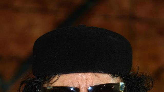 Kaddafi spreekt aanhangers toe via radio