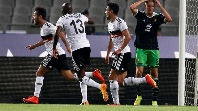 Feyenoord redt het ook in Turkije niet tegen Besiktas