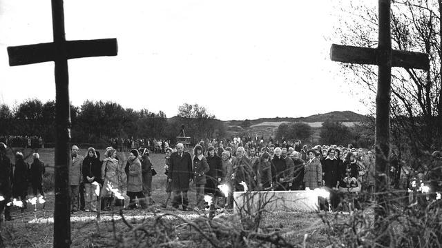 Slachtoffers Tweede Wereldoorlog alsnog begraven