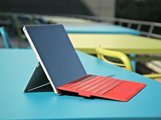 Product is dankzij standaard, scherm en toetsenbord een indrukwekkende laptop