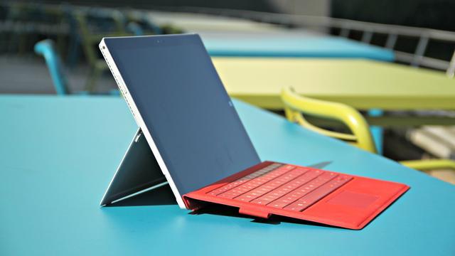 Review: Surface Pro 3 slaagt als laptop met vlag en wimpel