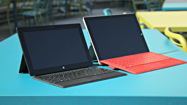 'Microsoft werkt aan nog grotere Surface-tablets'