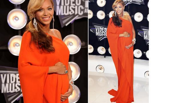 Zwangere Beyoncé laat Clint Eastwood wachten