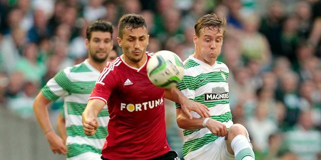Celtic ondanks nederlagen toch door in Champions League