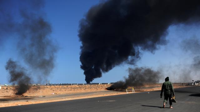 Rebellen nemen 'oliehoofdstad' Ras Lanuf in
