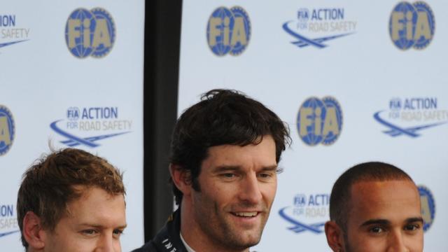 Webber snelste tijdens laatste vrije training