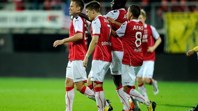AZ knokt zich langs FC Groningen