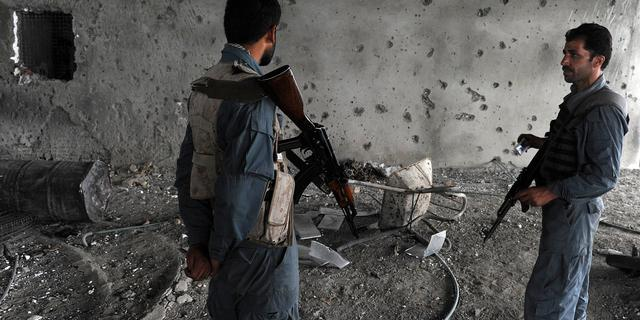 'Grote explosie in politiebureau Kabul'