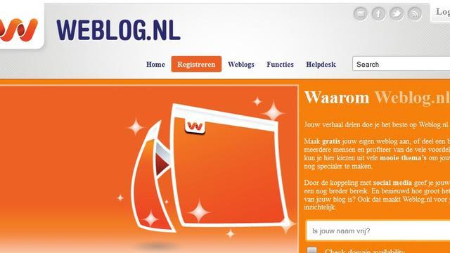 Weblog.nl na vier weken weer online