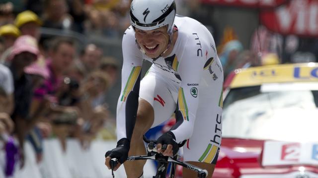 Martin met afstand de snelste in tijdrit Vuelta