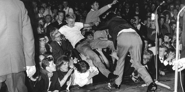 Nieuwe beelden opgedoken Rolling Stones in Kurhaus