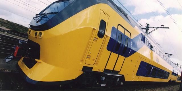 Geen treinen door aanvaring schip met spoorbrug Leiden