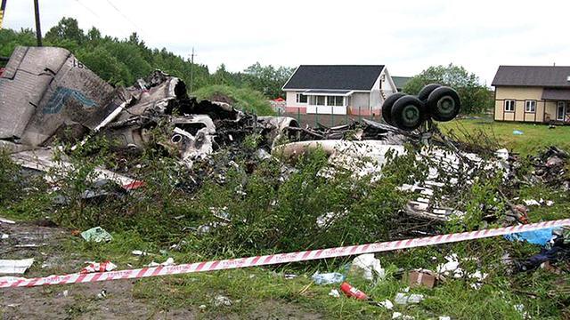 Vier doden bij vliegtuigcrash Rusland