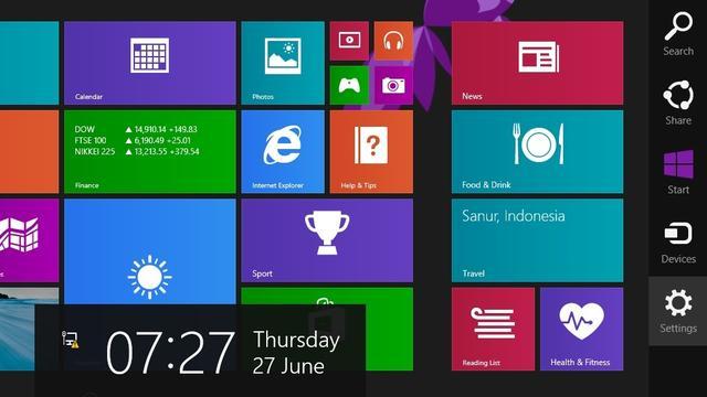 'Microsoft schrapt menubalk in Windows 9'