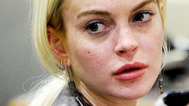 'Vrienden maken zich zorgen om Lindsay Lohan'