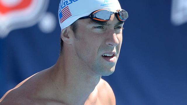 Geschorste Phelps onderscheiden door Amerikaanse zwembond