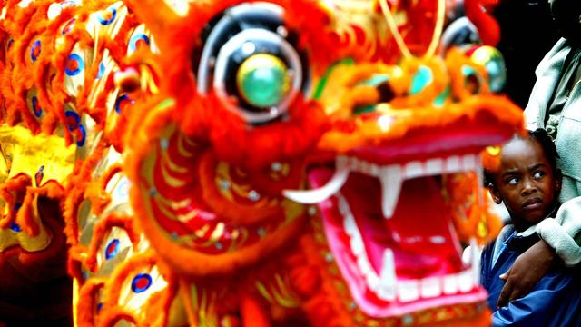 Chinees Nieuwjaar gevierd in Amsterdam