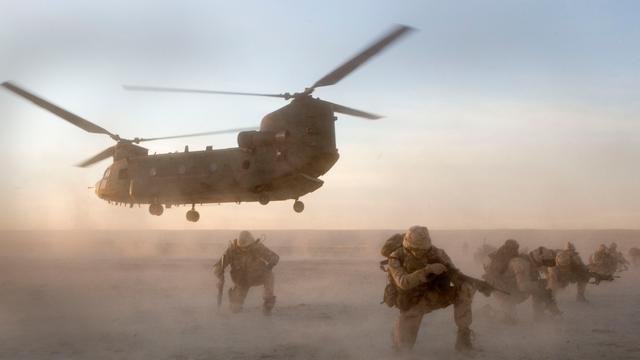 Einde missie mariniers VS in Afghanistan
